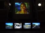 Road Island, installation vidéo / video installation, Frac Réunion, Marché/Market, Saint-Denis, Réunion, 2003..