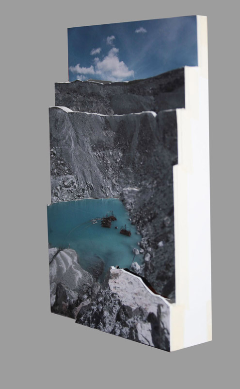 Terre d'amiante - photo relief / Asbestos Country - photo relief (maquette/model)