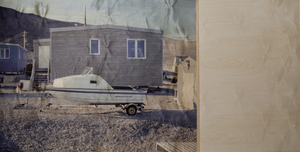 Qausuittuq, Place With No Dawn, No 1, House with a boat (2011)