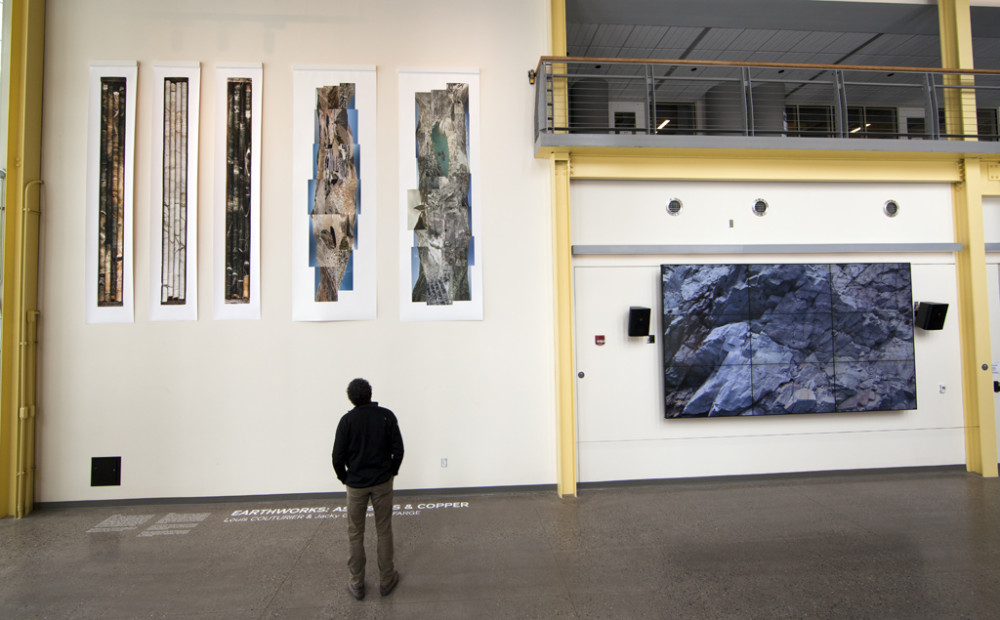 Earthworks : Asbestos & Copper. Exhibition at University of Rochester (USA), 2014.