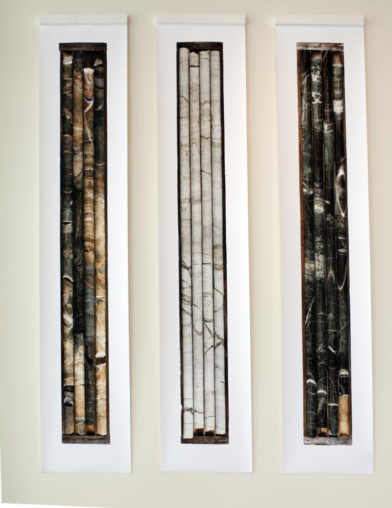 Earthworks : Asbestos & Copper. Cores Samples, 2014.