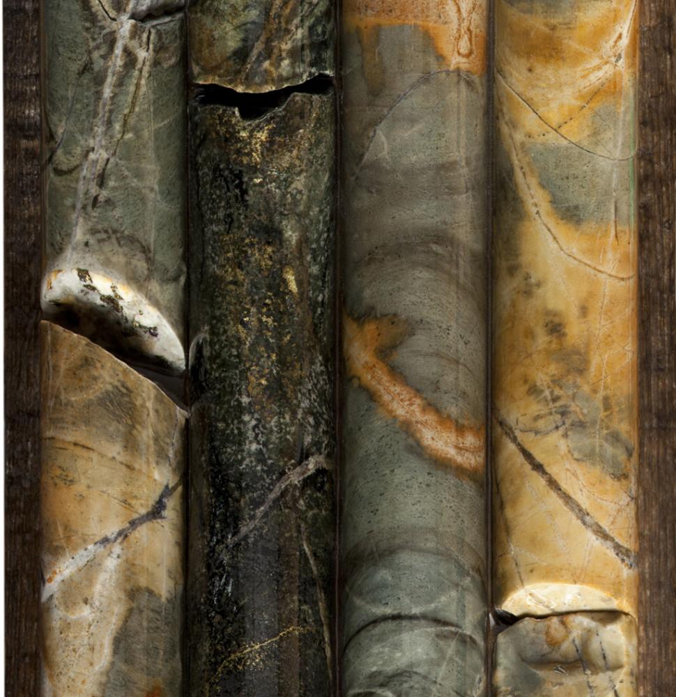 Coring Samples (detail), 2014.