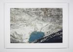 Lac et Gradins, 2004. 32 x 42 Inches.