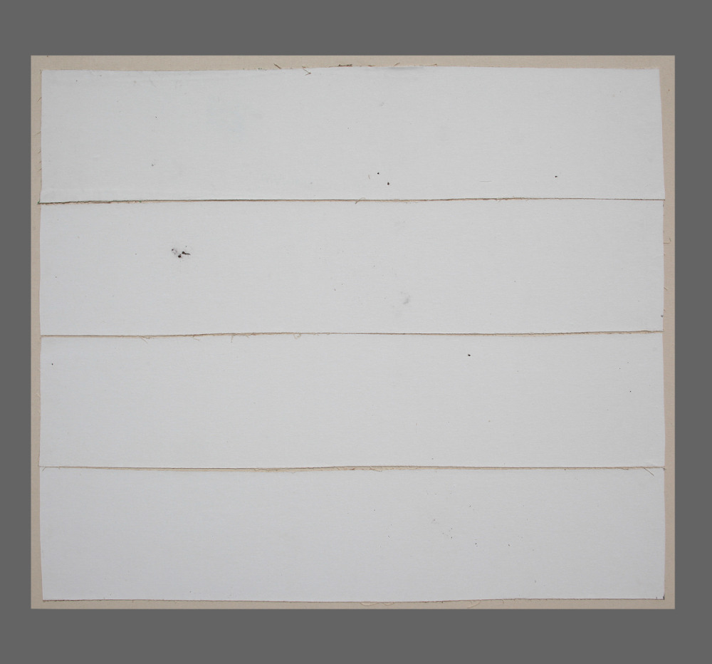 Paysage 138 / Landscape 138, Série Kegaska Series, 2014 Toile marouflée sur chassis / Canvass on frame. Dimensions : 39 x 42 po