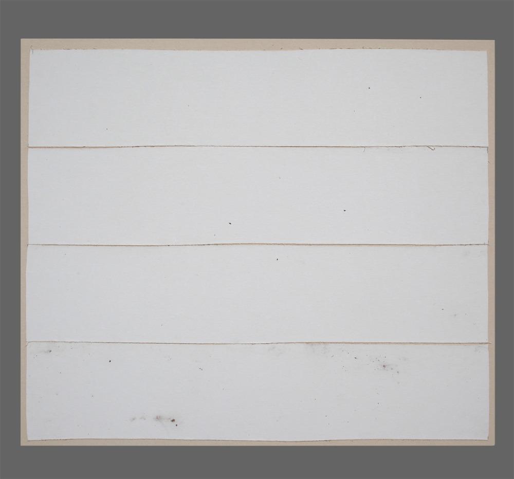 Paysage 138 / Landscape 138, Série Kegaska Series, 2014 Toile marouflée sur chassis / Canvass on frame. Dimensions : 39 x 42 po.