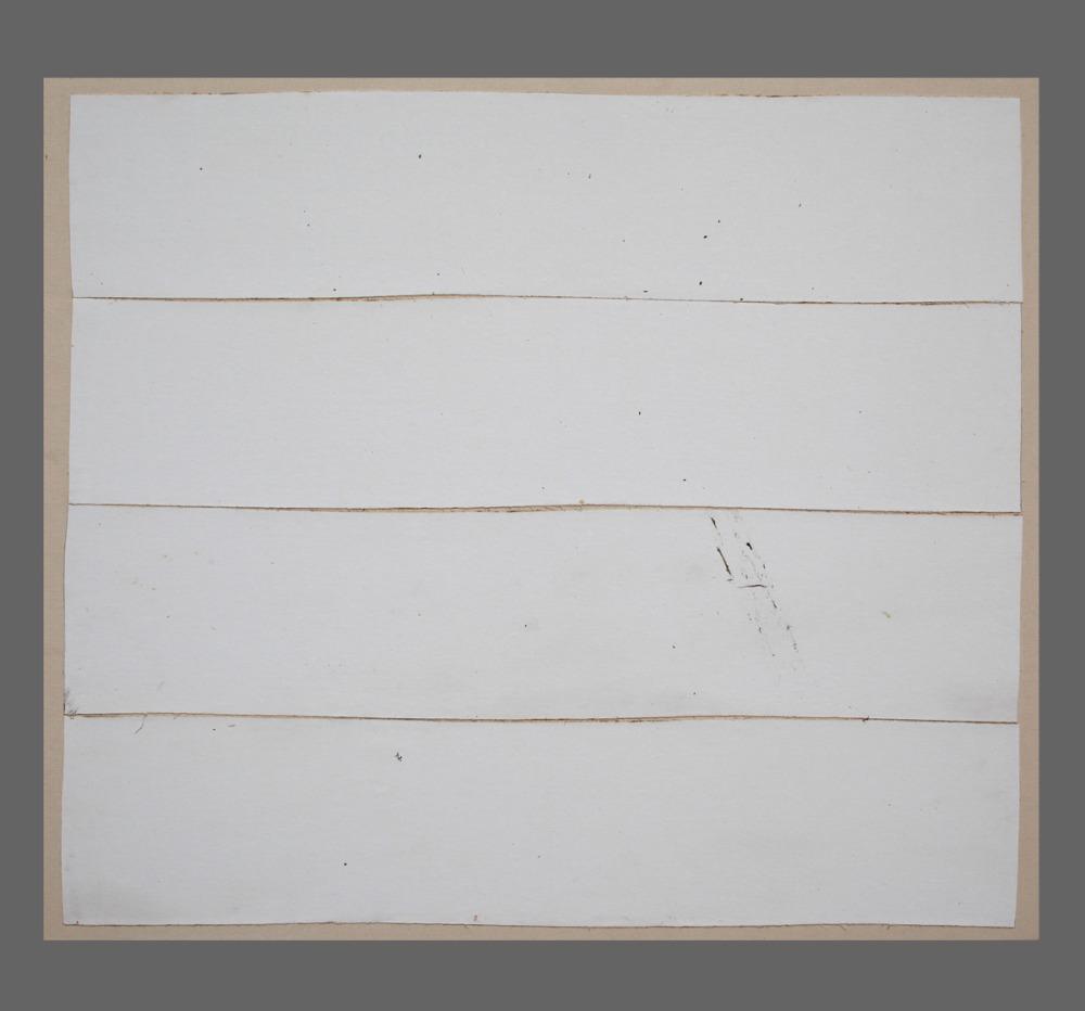 PPaysage 138 / Landscape 138, Série Kegaska Series, 2014 Toile marouflée sur chassis / Canvass on frame. Dimensions : 39 x 42 po