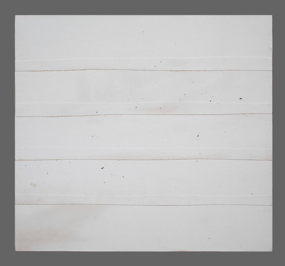 Paysage 138 / Landscape 138, Série Kegaska, 2014 Toile marouflée sur chassis / Canvass on frame. Dimensions : 39 x 42 po