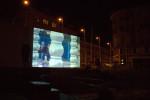 Citoyens-Amiens Nord, projection de la vidéoPublic projection of the video Citizens Amiens NordPlace Gambetta, Nuit Blanche d'Amiens, 2009